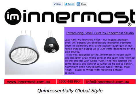 Innermost March Newsletter: Fillet